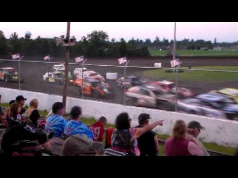 Sport Mod Amain @ Benton County Speedway 07/03/16