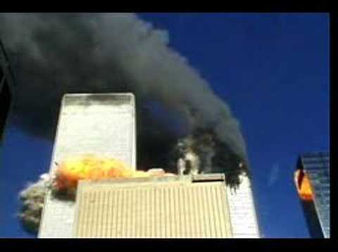 View of Flight 175 Impact From Near-Street View - YouTube