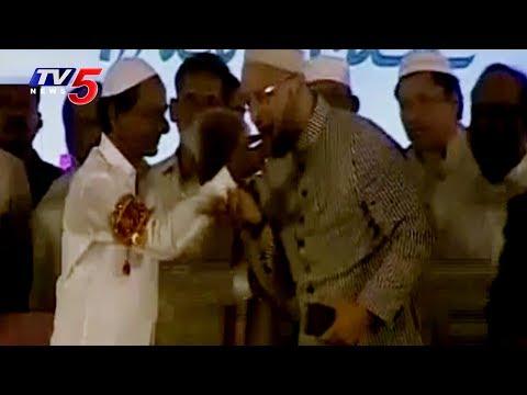 CM KCR Speech at Telangana Govt's Iftar Party at LB Stadium | TV5 News
