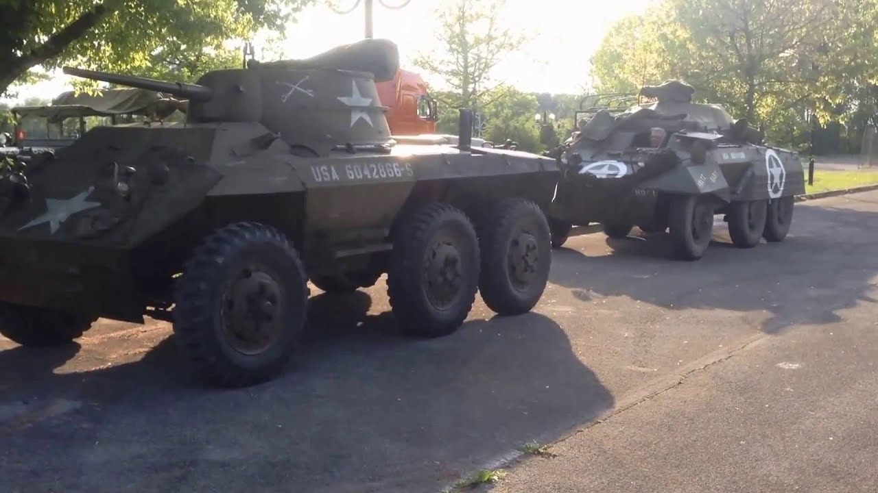 M8 GREYHOUND & M20 ARMORED UTILITY CAR - ITALY 2016