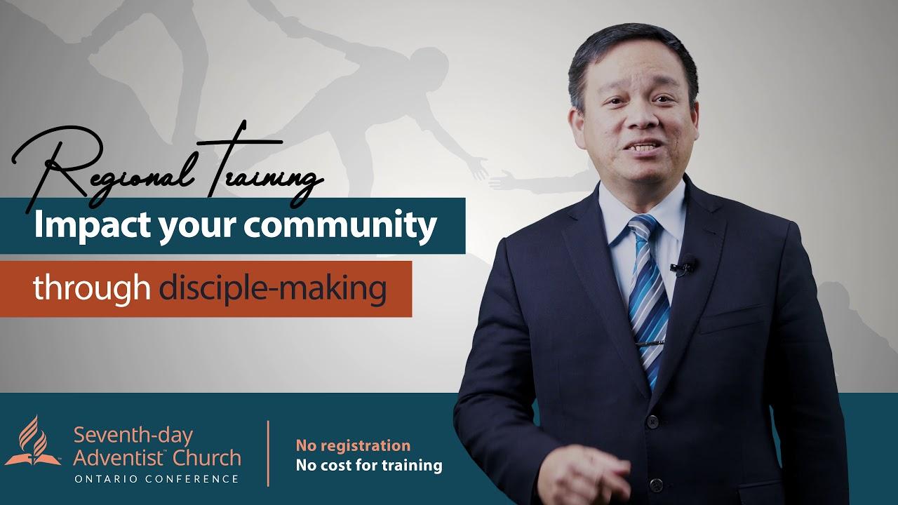 Discipleship Regional training Invitation | Pastor Edwin Martin