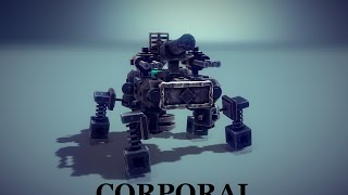 ♜Besiege Gameplay Corporal.