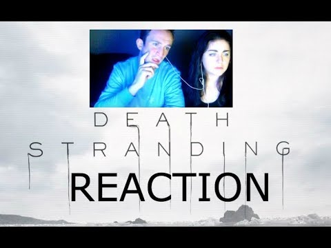 The Game Awards 2017 - DEATH STRANDING Reaction Video! Michael & Jessica - Console Couple.