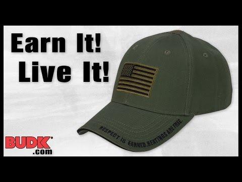 American Flag Tactical Hat - Cap - $9.99