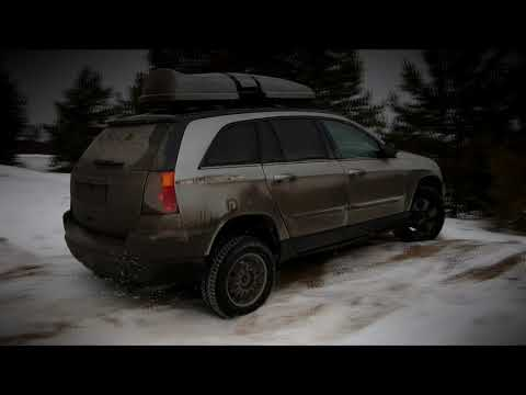 Chrysler Pacifica off road