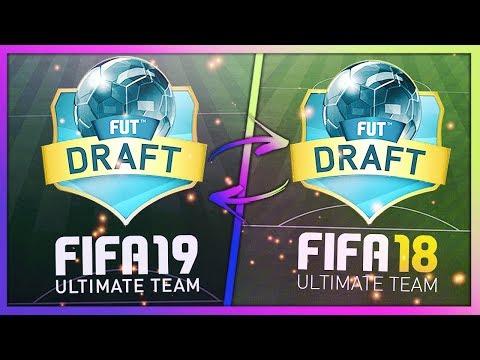 FIFA 19 DRAFT VS FIFA 18 DRAFT! 😎 | Fifa på svenska!