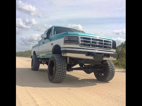 Lifted Ford F250 >> Cleanest Lifted OBS 7.3 Powerstroke straight pipe, rollin coal!! - YouTube