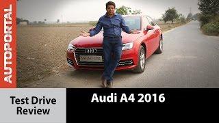 Audi A4 2016 Test Drive Review - Autoportal