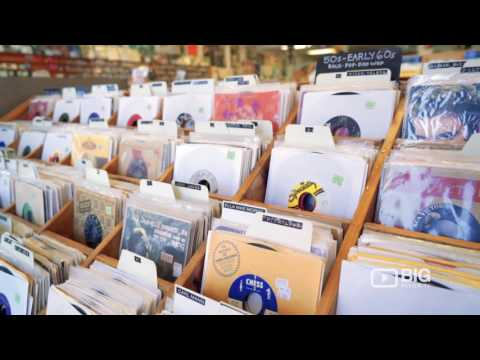Antone's Record Shop in Austin TX selling Vinyl Records, CDs and DVDs