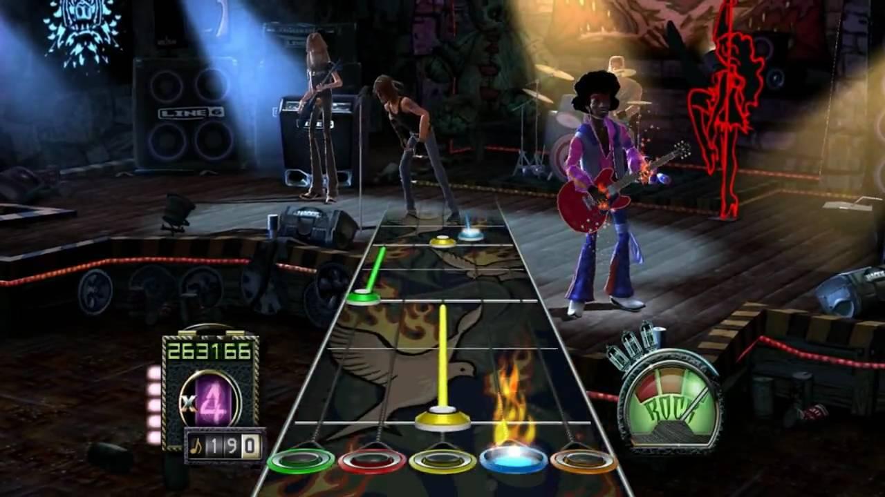 Theory of a deadman bad girlfriend guitar hero 3 custom hd youtube - Guitar hero 3 hd ...
