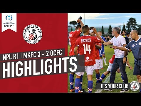 R1 NPL 2018 Melbourne Knights FC v Oakleigh Cannons FC