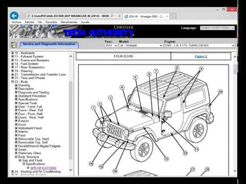 Jeep wrangler yj factory service manual new video dailymotion.