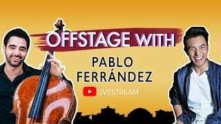OFFSTAGE with: Pablo Ferrández
