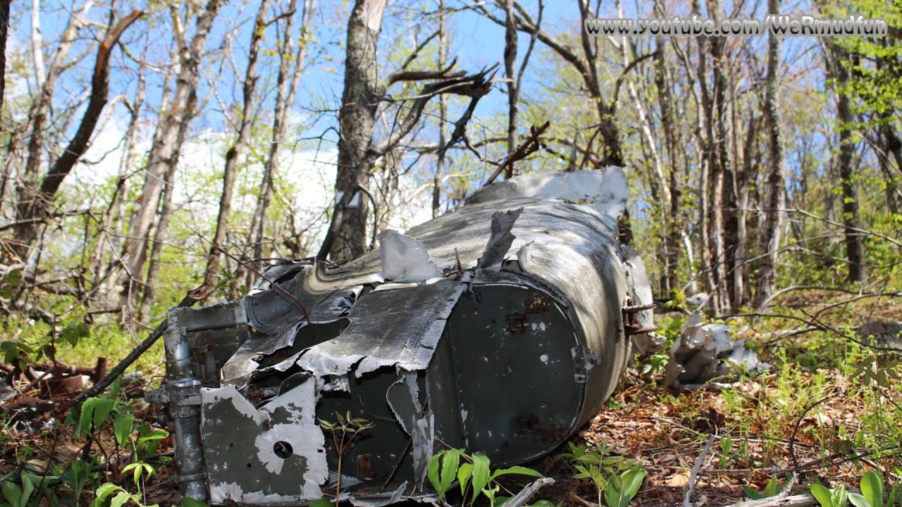 Blood Mountain 1949 At 6 Plane Crash Site Newbury Nh