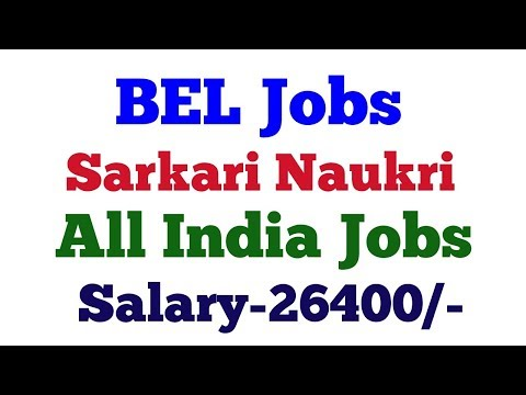 BEL Bangalore Recruitment 2018 for 27 Contract Engineer posts