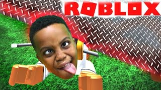 SURVIVE THE EVIL CRUSHER! - Roblox