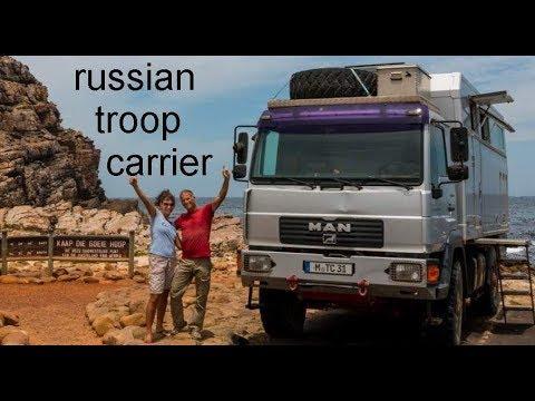 Lusk Wyoming Russian Troop Raki Mobil MAN LE 10.220 Expedition Camper RV Motorhome