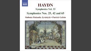 Play Symphony No. 65 in a Major, H. 1/65