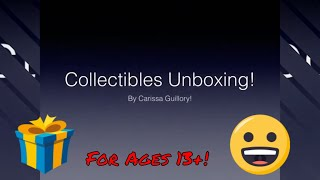 Collectibles Unboxing! (2019) 📦