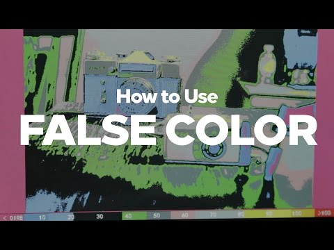 How to Use FALSE COLOR in 2 Minutes