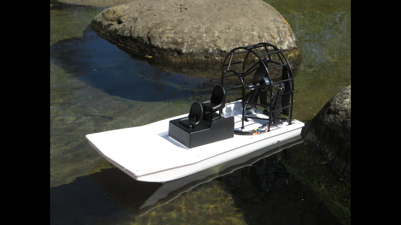 Maiden: HobbyKing Swamp Dawg Air Boat (ARR) (part 1) - YouTube