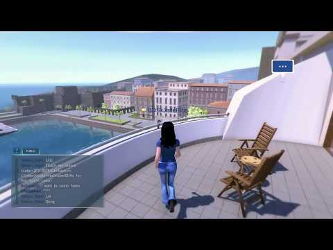 PlayStation home is back!!!!!!!! -Nebula realms harbour studio Tour-