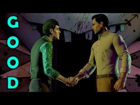 The Honest Batman - Episode 4 - Good Choices - Batman : The Enemy Within Game - Joker