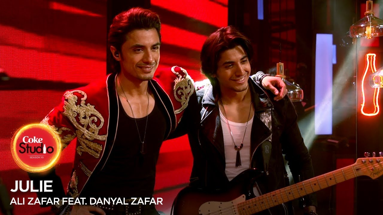 Coke Studio Season 10| BTS| Julie| Ali Zafar feat. Danyal Zafar
