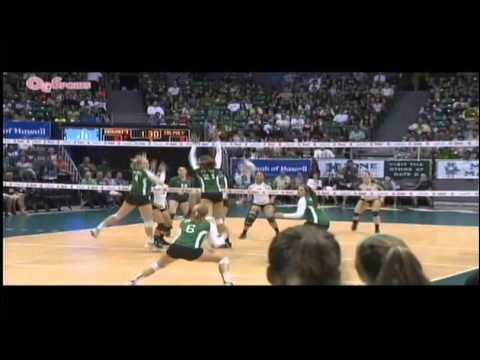 Rainbow Wahine Volleyball 2014 - Hawaii Vs Cal Poly
