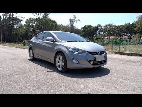 2013 Hyundai Elantra 1.8 Premium Start-Up, Full Vehicle Tour and Test Drive