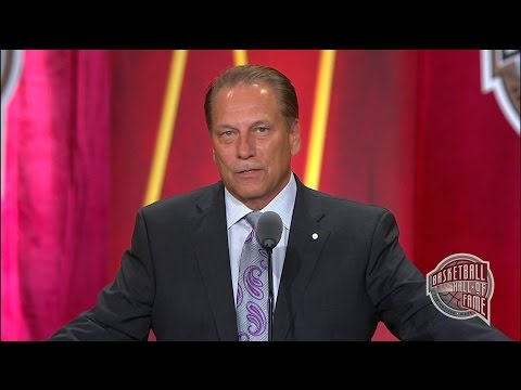 Tom Izzo's Basketball Hall of Fame Enshrinement Speech