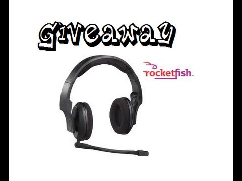 OVER GiveAway Rocketfish Universal Gaming Headset