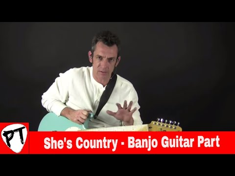 Jason Aldean - She's Country - How to Play - Country Guitar Lesson