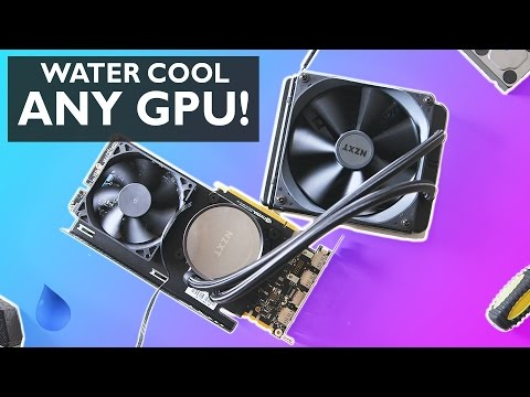 Watercool ANY Graphics Card! -- Testing the NZXT G12 Bracket