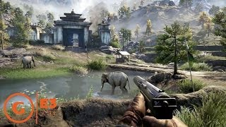 Far Cry 4 - Co-op Open World Gameplay Trailer - E3 2014