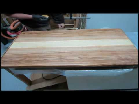 Sally's Coffee Table 11:  Starting French Polish