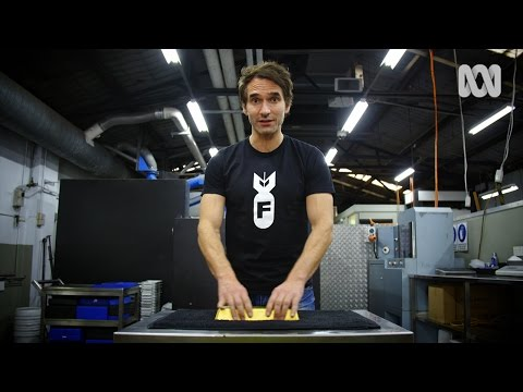 Todd Sampson's Life On The Line: Gold Bar Lift Challenge