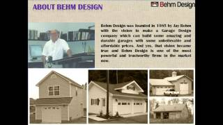 Creative Garage Plans with Behm Design