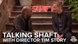 Shaft 2019 Interview: Tim Story On Directing Samuel L. Jackson  | Extra Butter