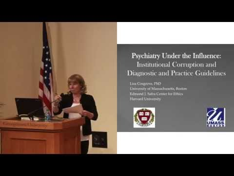 Psychiatry Under the Influence | Lisa Cosgrove at PharmedOut