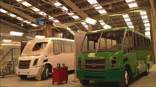 Visita a la planta de Camiones DINA; empresa 100% mexicana