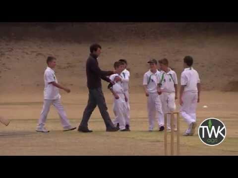 Junior Cricket Action - Piet Retief vs JJ vd Merwe 13-09-16