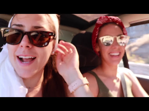 OUR DAY IN RED BEACH SANTORINI  !  - VLOG 003