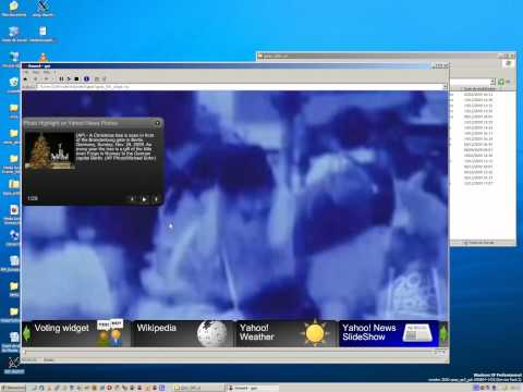 GPAC Widget Manager (TV-style GUI)