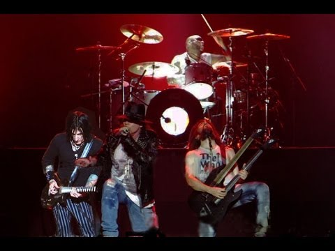 Guns N' Roses GNR - Sweet Child O' Mine Live In Jakarta Indonesia 2012