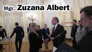 Mgr. Zuzana Albert - nová sudkyňa Okresný súd Malacky (1/18)