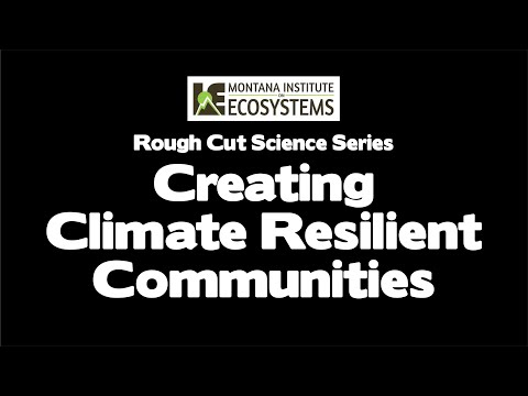Creating Climate Resilient Communities