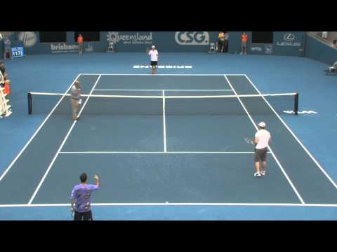 Could You Return Andy Roddick's Serve For $1000? - Brisbane International 2011