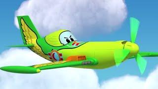 Мультфильмы - Будни аэропорта 2 - Крыло со шрамом - Новый ученик - Cерия 40