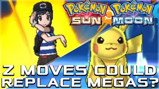 Z MOVES, POTENTIALLY REPLACING MEGA EVOLUTION AND POKERIDE IN POKEMON SUN AND MOON!